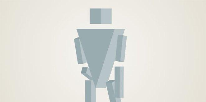 3D walking robot