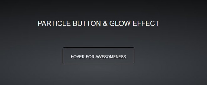 Particle Button made with Canvas and HTML5