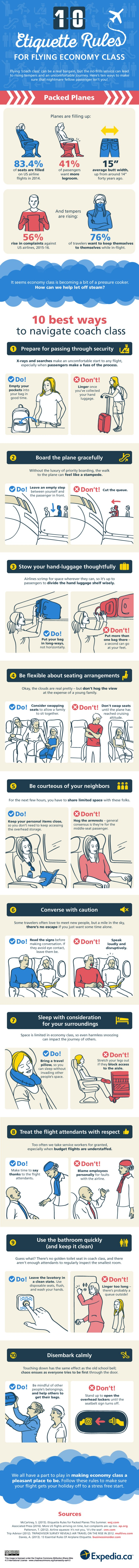 etiquette-rules-flying-economy