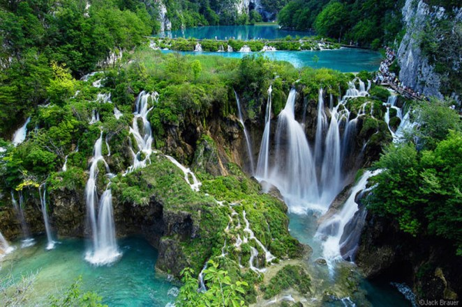 waterfalls at Plitvicka Jezera National Park