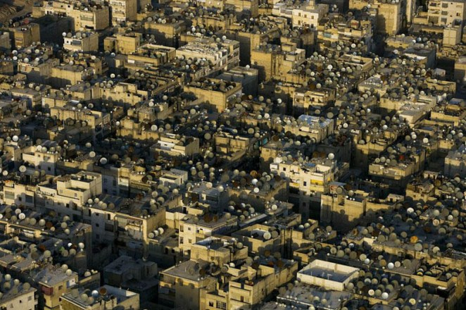 satellite-dishes-on-the-roofs-of-aleppo-syria