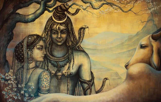 Lord Shiva - Daughter