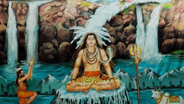 Why Ganga flows through Lord Shiva's Hair