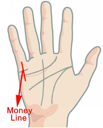 What Does The Money Line In Your Palm Say?