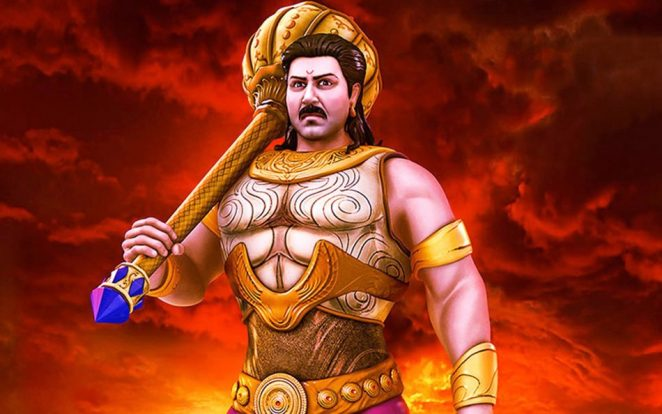 Bhima had strength of ten thousand elephants