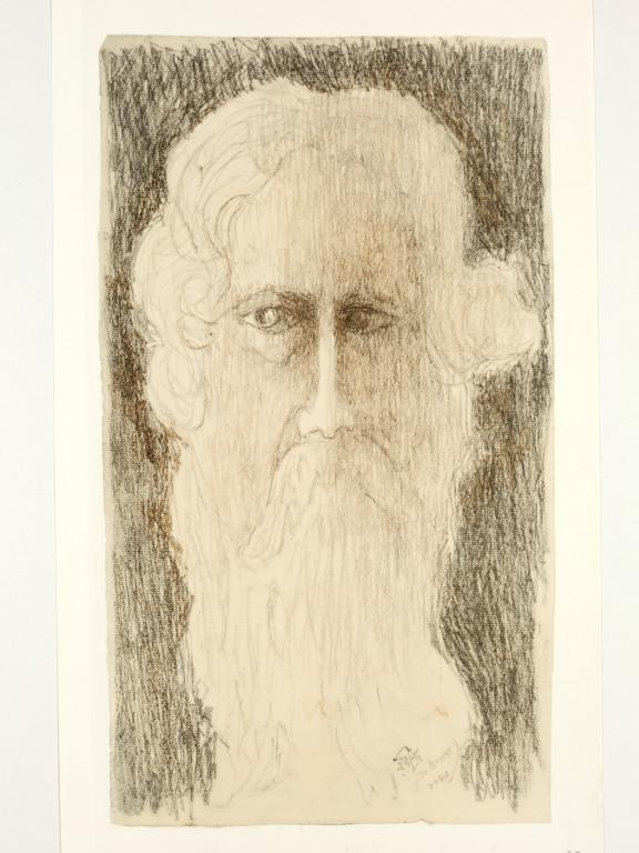 Self-portrait – Rabindranath Tagore Art