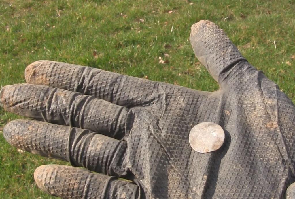 XP Deus digging deep coin