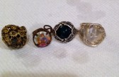 Rings Stacey R. found-all in the same hole.