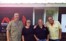 Left to Right: Carter Pennington, Myself, Pat D'Arinzo and Ken Carpenter