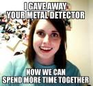 gave away detector