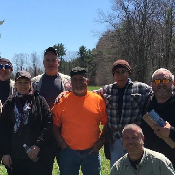 Left to right: Rich, Me, Jeff P, Pat D, Tony S, John, Jesse