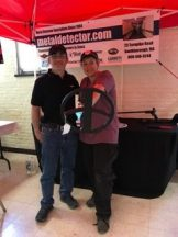 Playing around at the MetalDetector.com booth