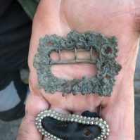 Awesome shoe buckle found by Rich W.