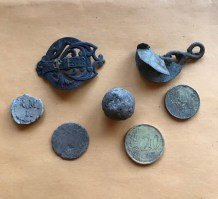 Finds from near the canal