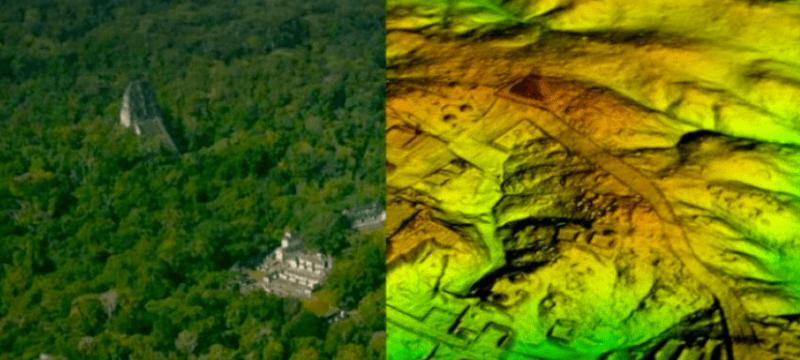 Lidar maya