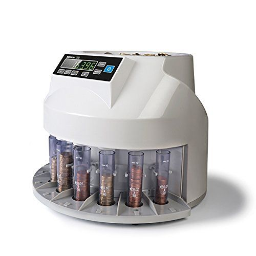 Análisis detallado del contador de monedas Safescan SSC33295