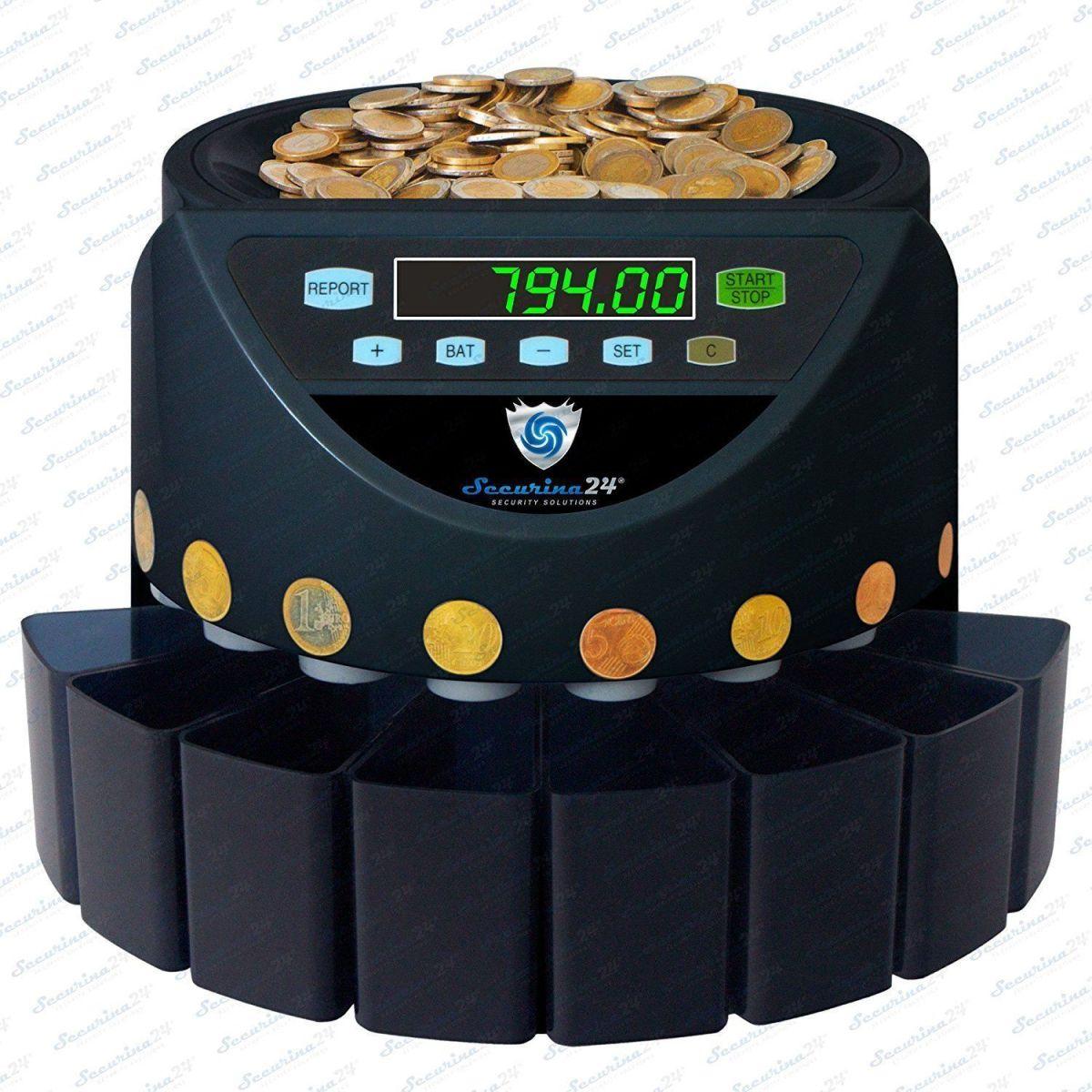 Análisis al completo del contador de monedas Securina24® SR1200BBB