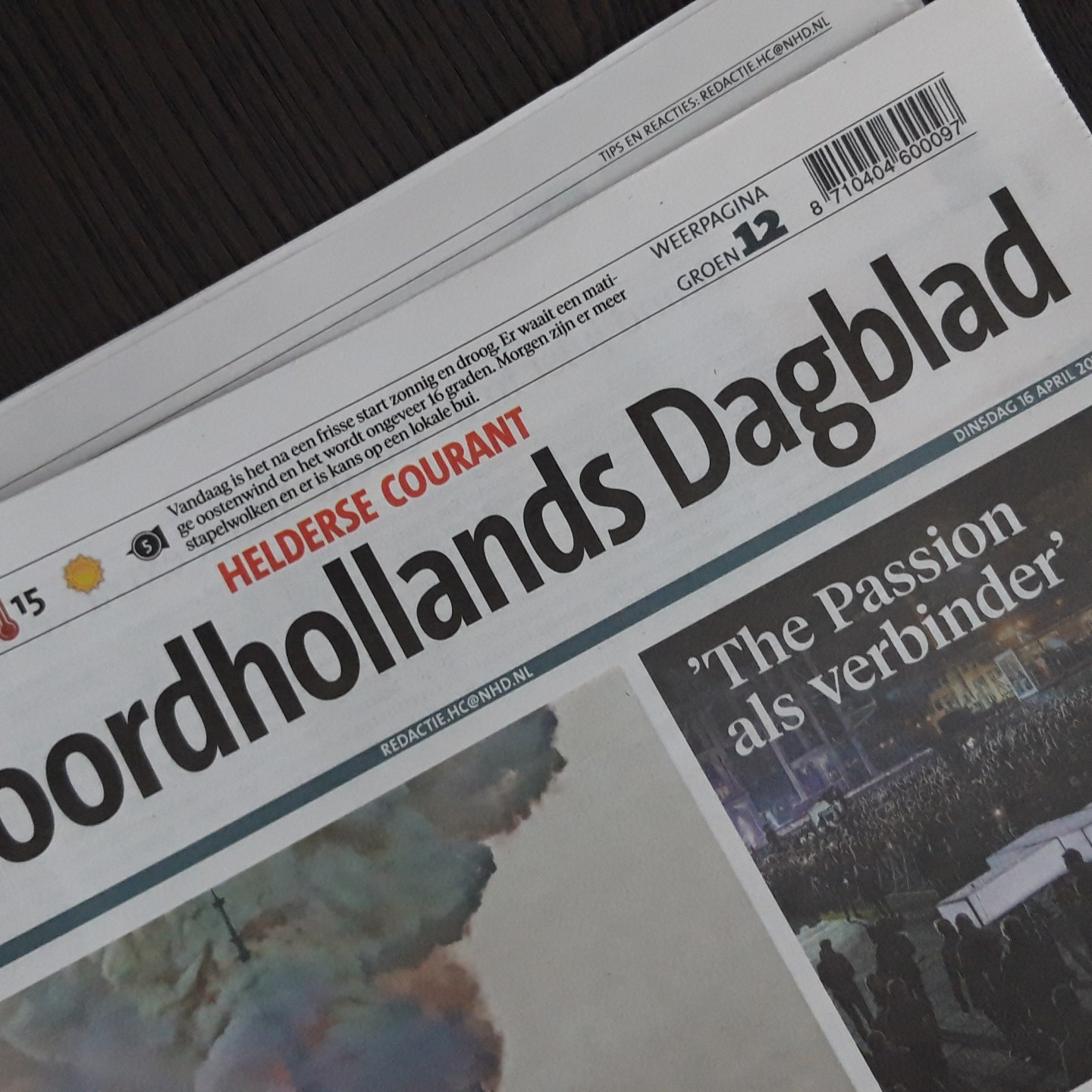 Artikel Noordhollands Dagblad