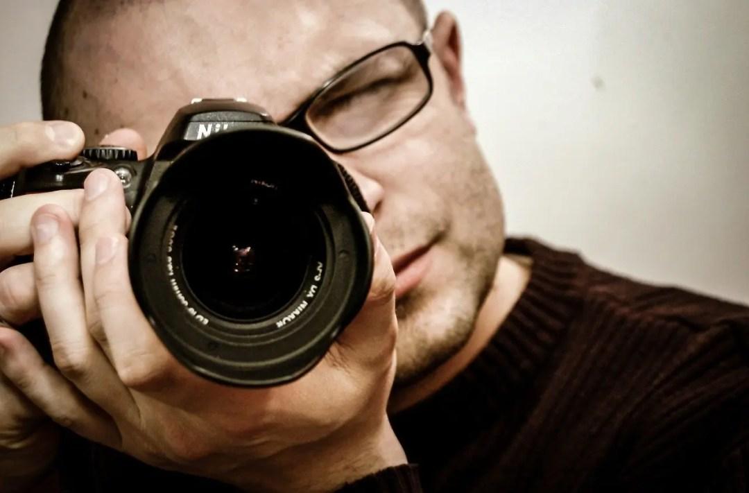 Detektiv, fotografiert