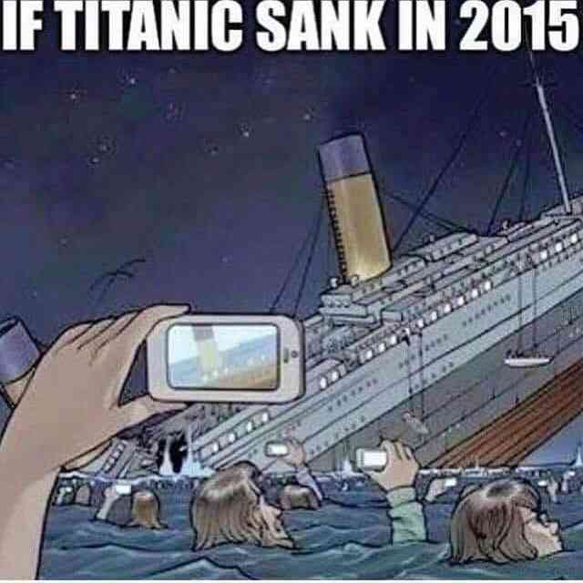 Jeśliby Titanic tonął w 2015 roku