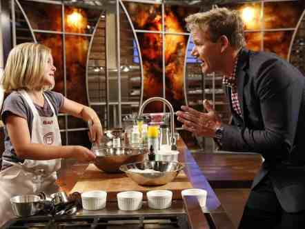 "Back off, Gordon Ramsay! Little chef Sarah on ""MasterChef Junior"" isn't afraid of you."