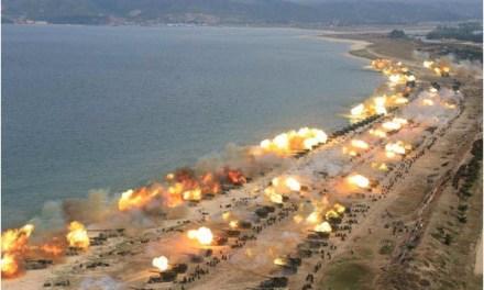 Przywódca Korei Północnej Kim Dzong Un uczestniczył we wtorek w ćwiczeniach wojskowych