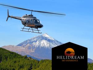 Balade en Hélicoptère sur l´île de Ténérife