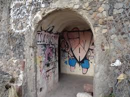 L´entrée du Bunker San Andrés de l´île de ténérife