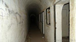 L´interieur du bunker de San Andrés de l´île de ténérife