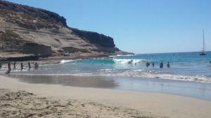 La plage hippie la caleta