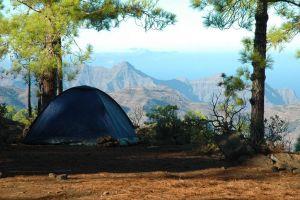 Zone de camping à Ténérife