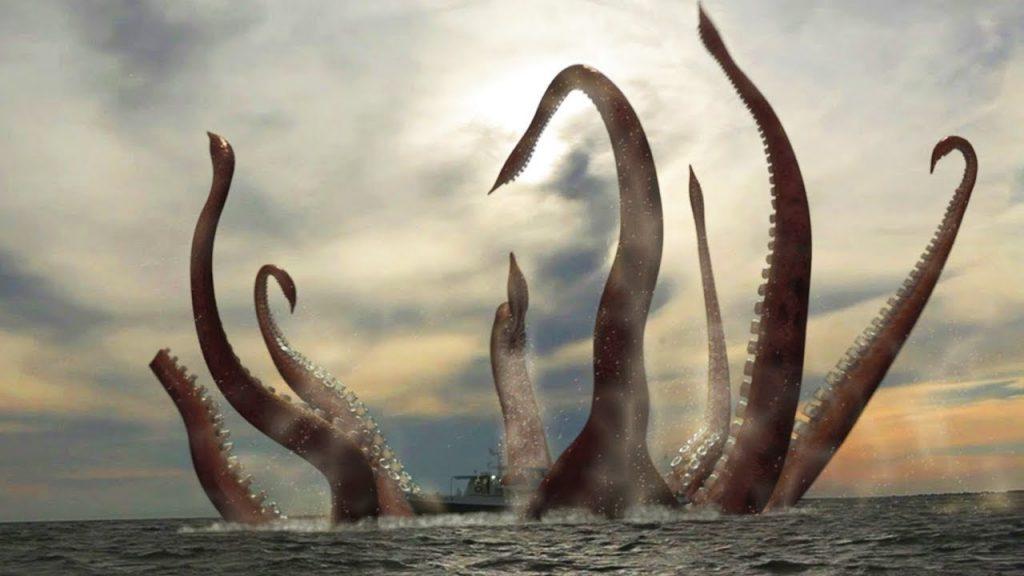 el kraken - monstruos marinos