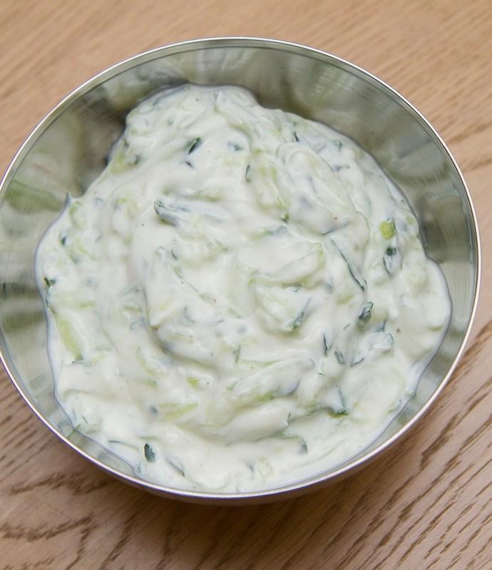 Tzatziki – Enkelt og godt middagstilbehør