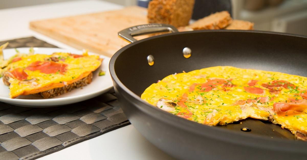 Verdens beste omelett