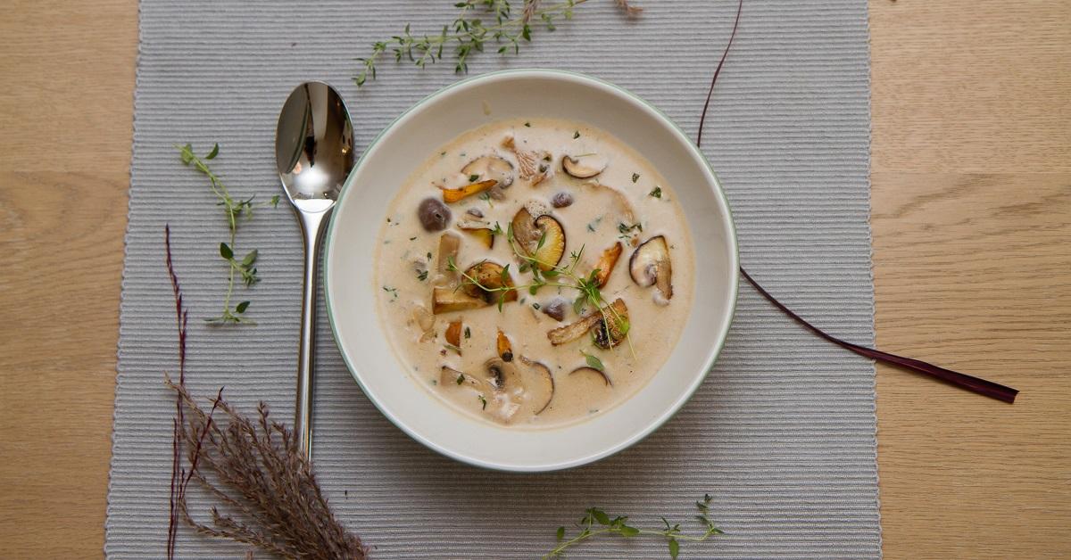 Den beste høstsuppen - Skogssoppsuppe