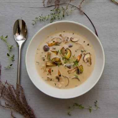 Den beste høstsuppen - SkogssoppsuppeDen beste høstsuppen - Skogssoppsuppe