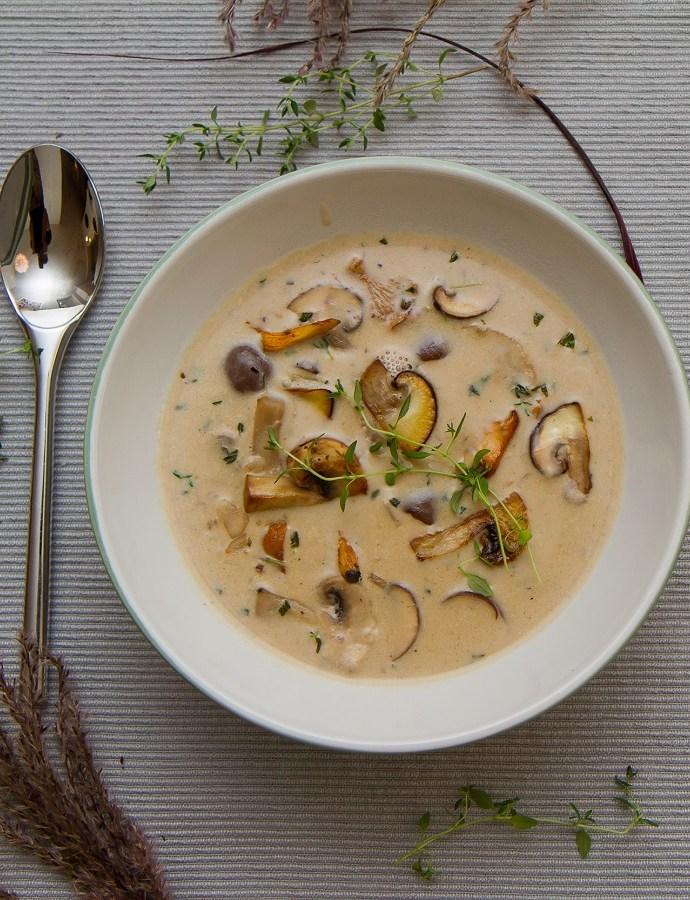 Den beste høstsuppen – Skogssoppsuppe