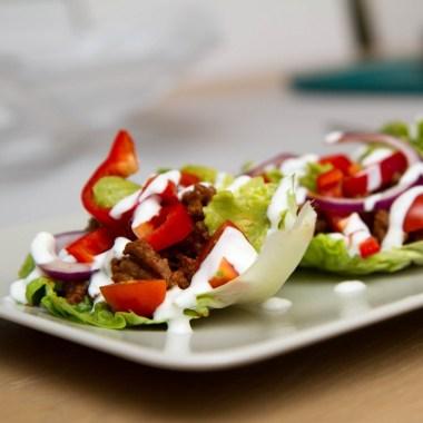 Sunn hverdagstaco i salatskåler