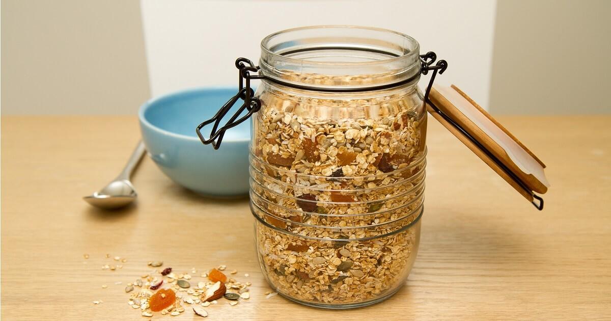 Lettvint granola på få minutter