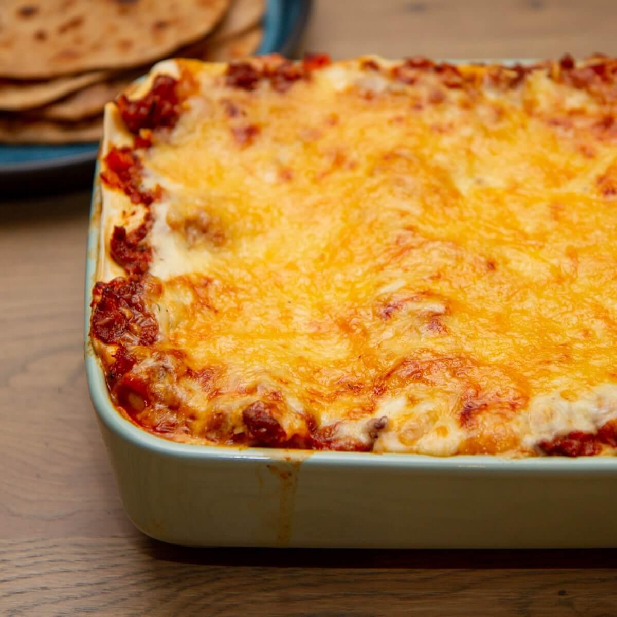 Hjemmlaget lasagne