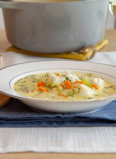 Enkel fiskesuppe