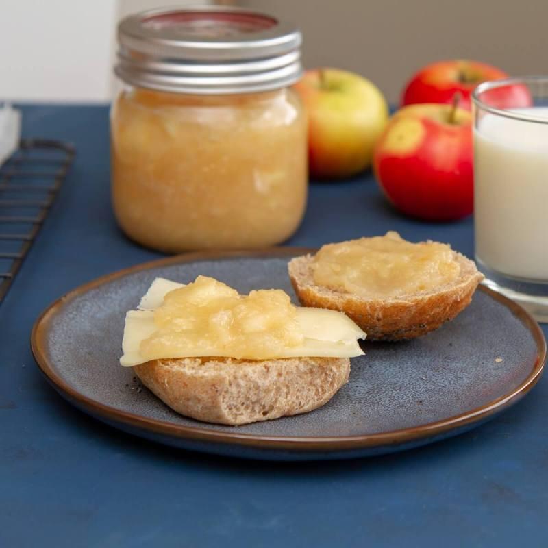 Hjemmelaget eplemos/eplesyltetøy