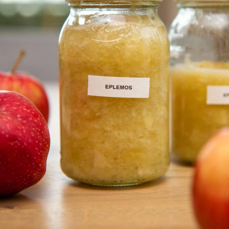 Hjemmelaget eplemos