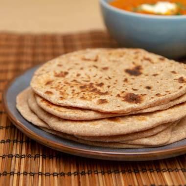 Chapati - indisk hverdagsbrød