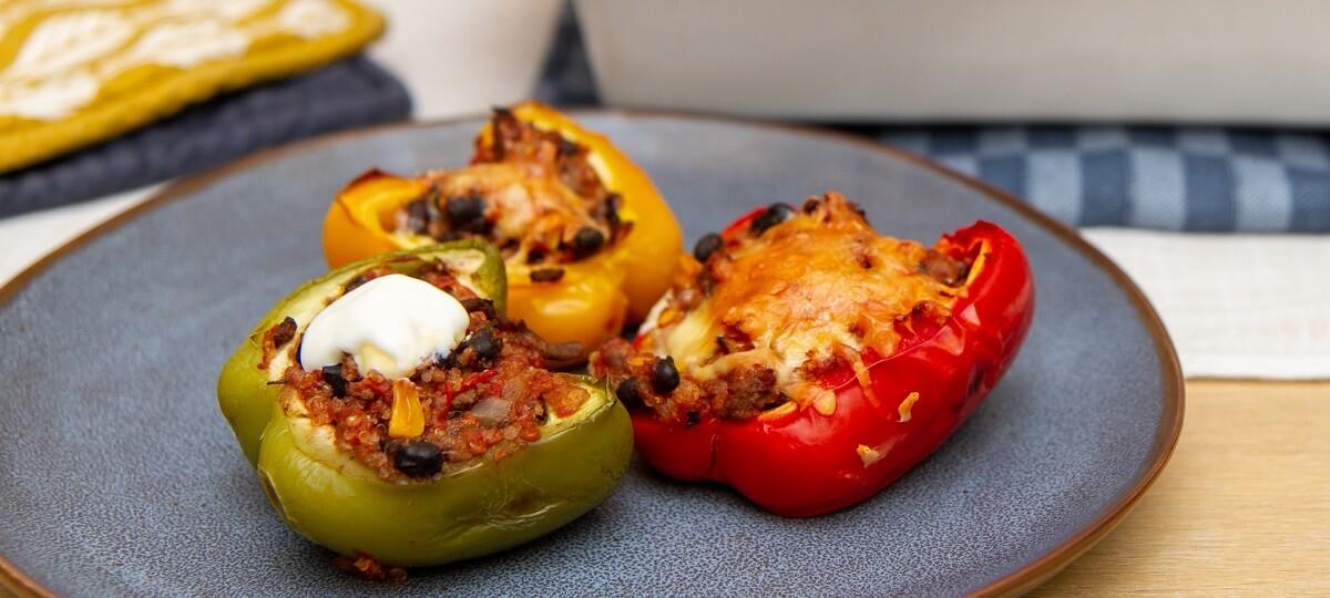 Tacofylte paprika
