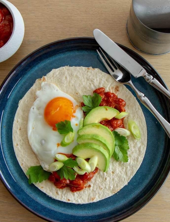 Huevos rancheros – meksikansk bondeegg