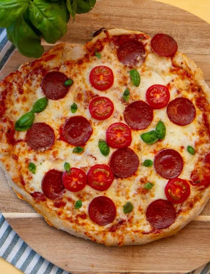 Eltefri pepperonipizza