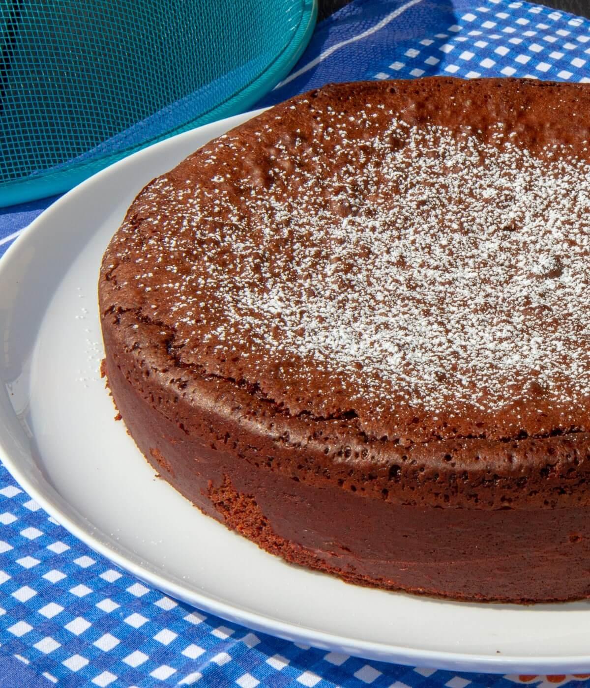 Glutenfri sjokoladekake