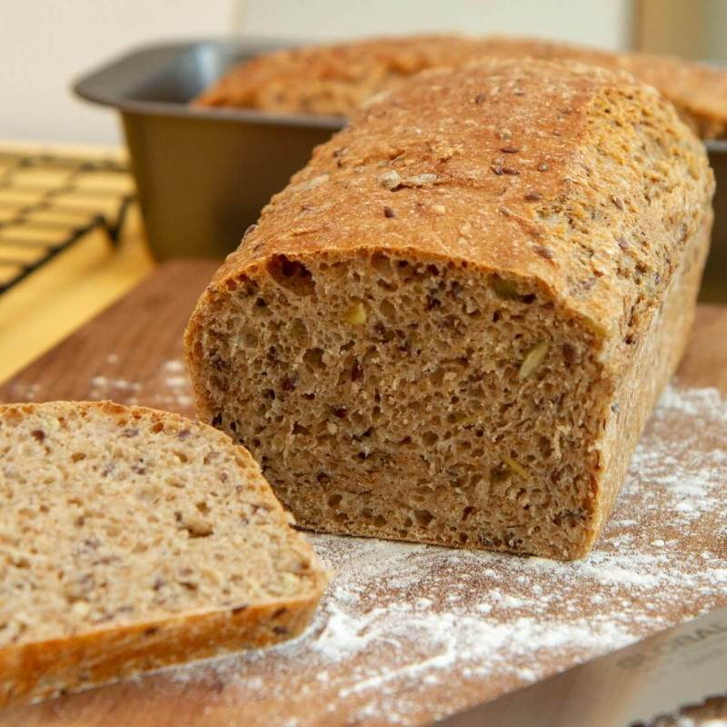 Brød uten kjøkkenmaskin
