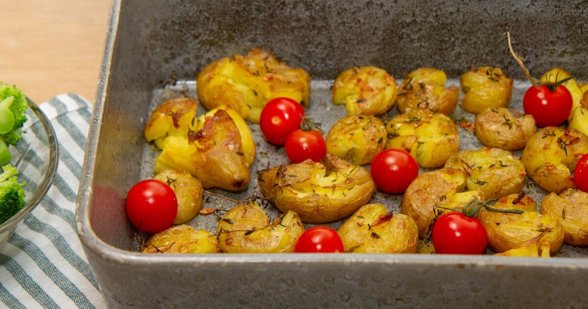 Sprøbakte poteter